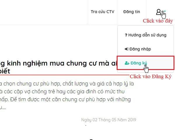 Huong Dan Dang Ky Tai Khoan 1