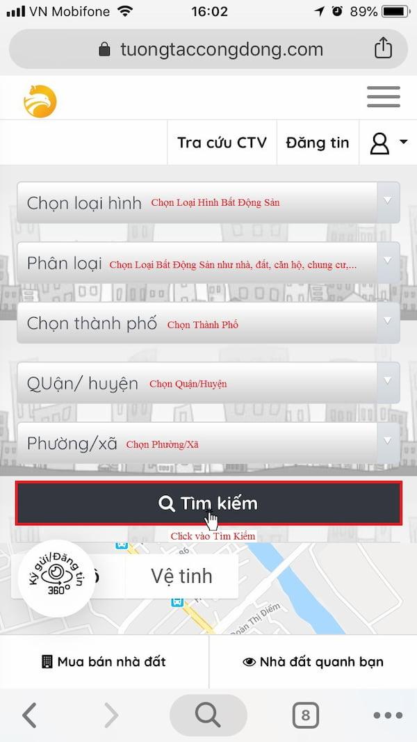Hướng dẫn sử dụng VR360 trên điện thoại 2