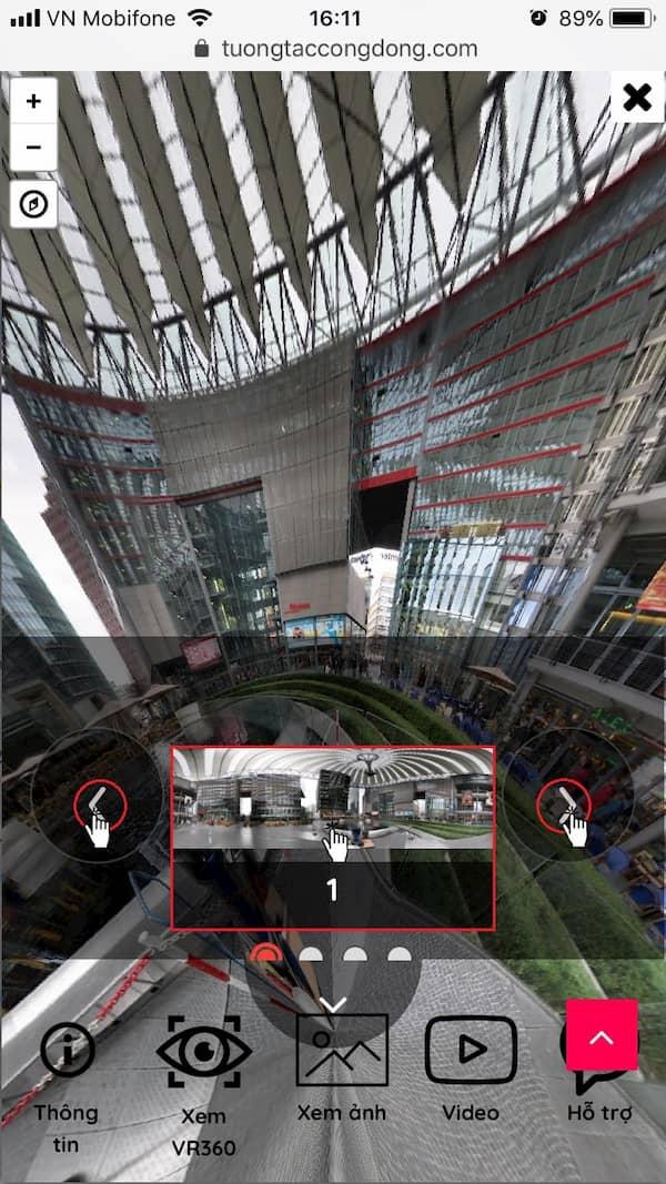 Hướng dẫn sử dụng VR360 trên điện thoại 4