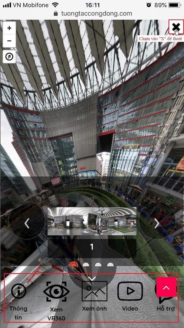 Hướng dẫn sử dụng VR360 trên điện thoại 5
